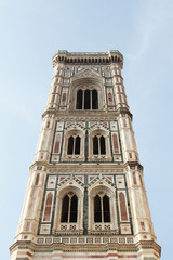 Florence, Italy: Giotto's bell tower.
