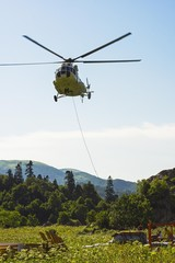 Passenger transport cargo helicopter