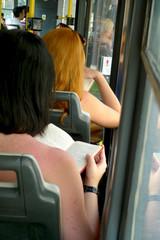 lecture en transport en commun