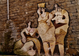 Huasfrauen von Orgosolo