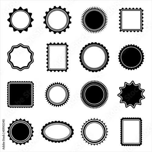 Stamp and Frame shapes \