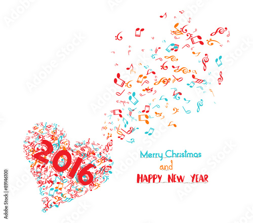 merry christmas and happy new year 2018 musical is my soul\
