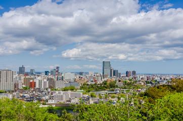 Sendai's cityscape - Japan