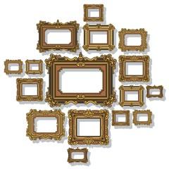 Frame Antique Vector