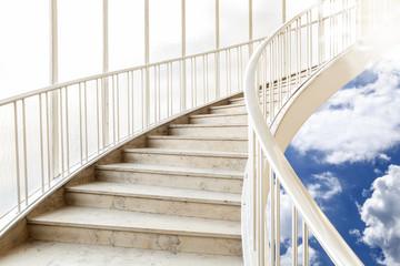 Treppe Himmel Aufwärts