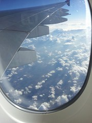 Fotobehang Zeilen Flug