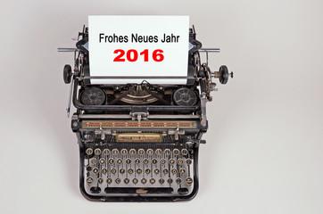 2016 Jahreswechsel