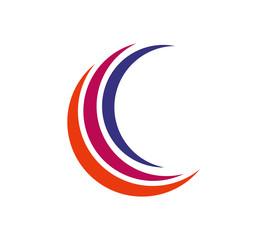 c swoosh logo