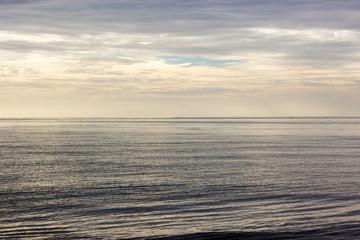 morning beach sea and sky