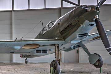 Flugzeug mit Propeller
