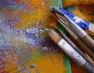 Painting art tools creative painting brush