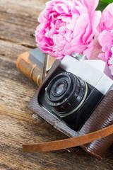 retro photo camera