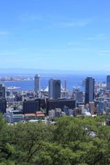 Kobe city view in Japan