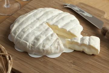 Piece of Italian Tuma dla Paja cheese