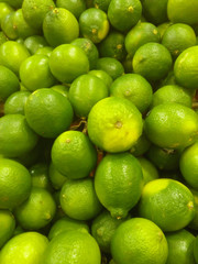 a lot of green limes