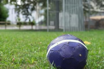 Einzelner Fussball