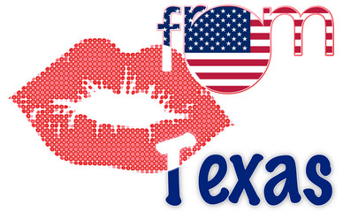 Kiss from Texas