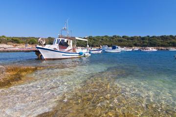 Chorwacja port rybacki
