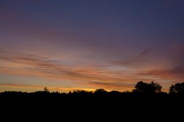 Splash of colors at dawn.