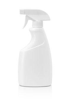 blank packaging spray bottle isolated on white background