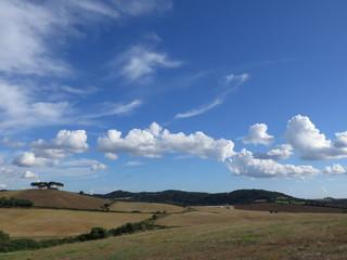 nuvole, campagna