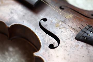 Used violin