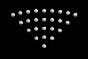 Wifi illustration on black background