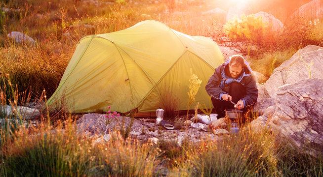wilderness explorer camping