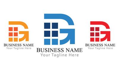 G Block Logo Business