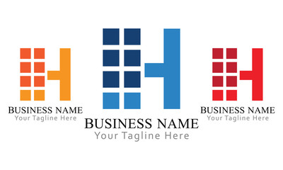 H Block Logo Business