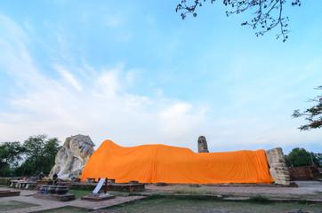 Big Buddha at ayuthaya Thailand.