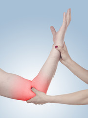 Physiotherapy for elbow pain, aches and tension