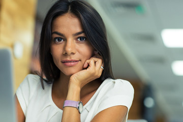 Portrait of a beautiful businesswoman