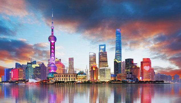 China - Shangahi skyline