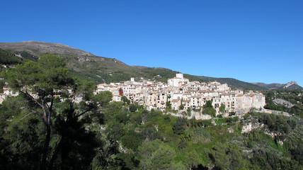 Village de Tourrettes sur Loup dans les Alpes-Maritimes