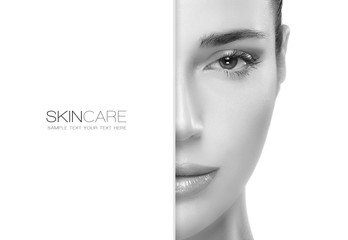 Beauty and Skincare concept. Template Design