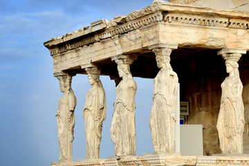 Caryatides at Acropolis of Athens