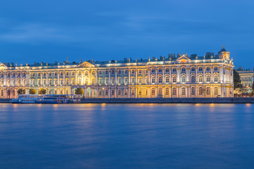 Hermitage Museum at St.Petersburg, Russia