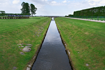 Canal in Peterhof Palace
