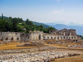 The ancient city of Tlos-Turkey