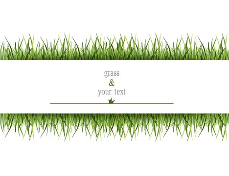трава газон открытка