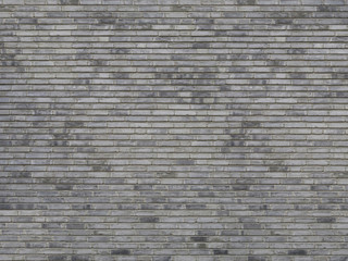beige graue klinker backsteinwand
