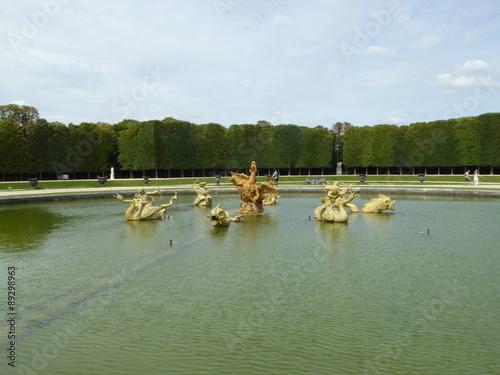 Versailles Les Jardins Du Chateau De Versailles Stock Photo And