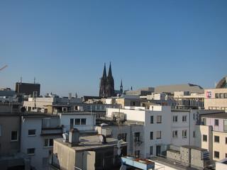 Dächer von Köln