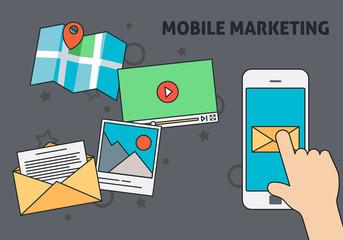 Mobile Marketing Design