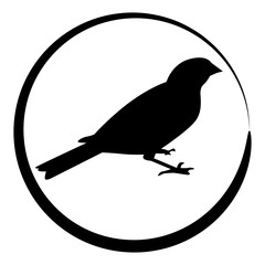 Sparrow Bird Icon