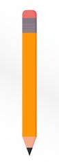 Vector icon of pencil