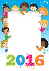 Bambini - Auguri- Anno Nuovo
