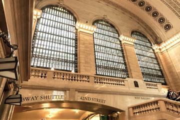 Grand Central Terminal main lobby architectural detail Midtown Manhattan, New York, USA Papier Peint
