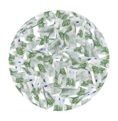 Hundred Euro Notes ball